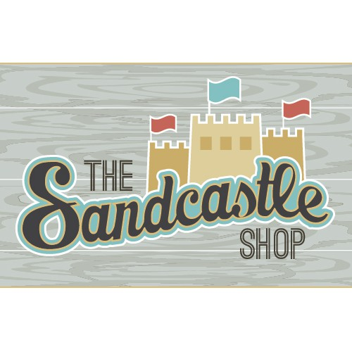 Sandcastles and Signage:  Create a new logo for The Sandcastle Shop!