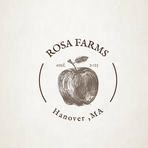 Organic logo for a Farmers Market