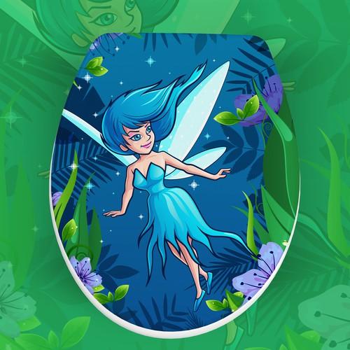 Sweet fairy Illustration
