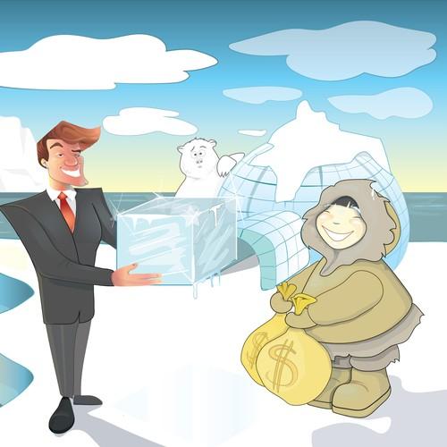 Selling ice to eskimo
