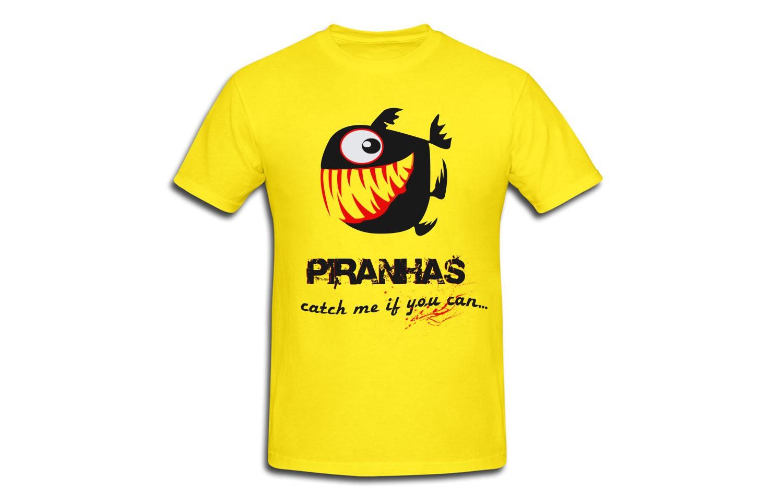 Swim team - Piranhas - need catchy caption and logo - we want to show fierceness on our swim team