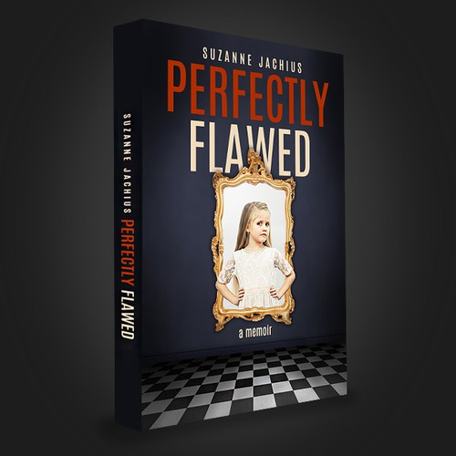 Perfectly Flawed, a memoir BOOK COVER