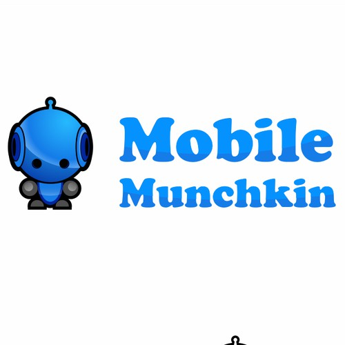 Classy LOGO for kids' iPhone app company Mobile Munchkin