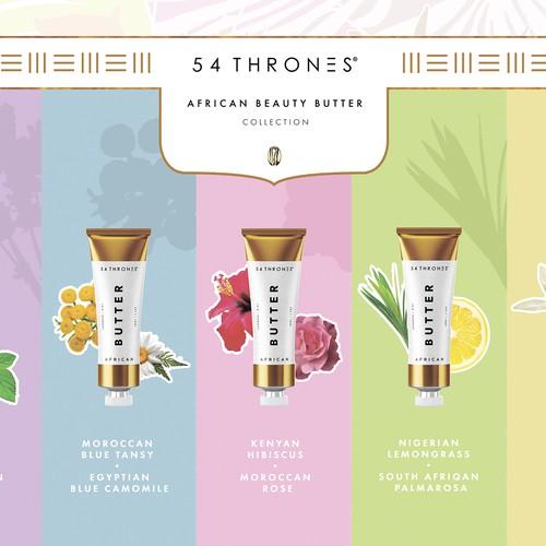 African Skincare Brand Needs design