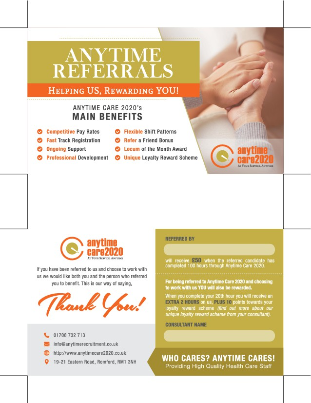 Fantastic refer a friend & earn a bonus scheme