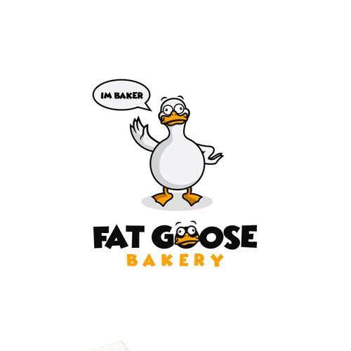 FAT GOOSE BAKERY LOGO
