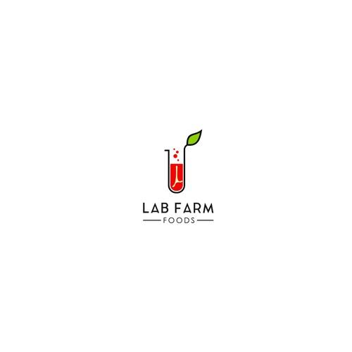 Contemporary Logo for LAB FARM FOODS