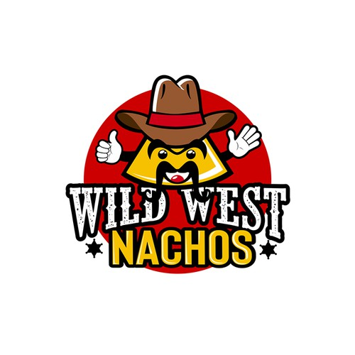 Logo for a Nacho Food Truck
