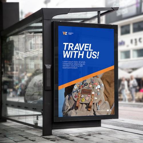Reisebüro Ziegler - poster proposal