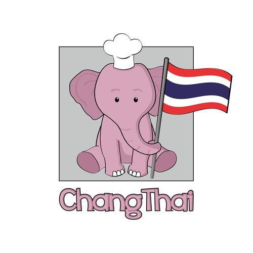Logo-Design für Thailändisches Catering