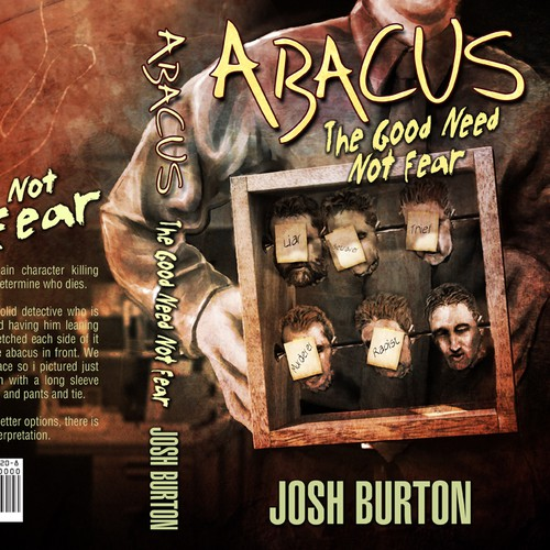 book or magazine cover for Josh Burton