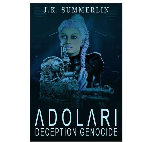 Adolari Book-cover design