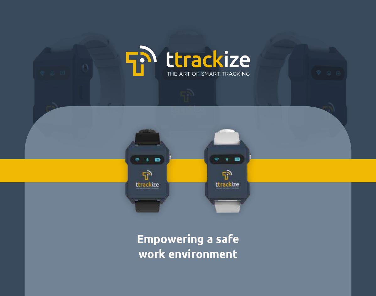 TTRACKIZE logo & PPT power deck