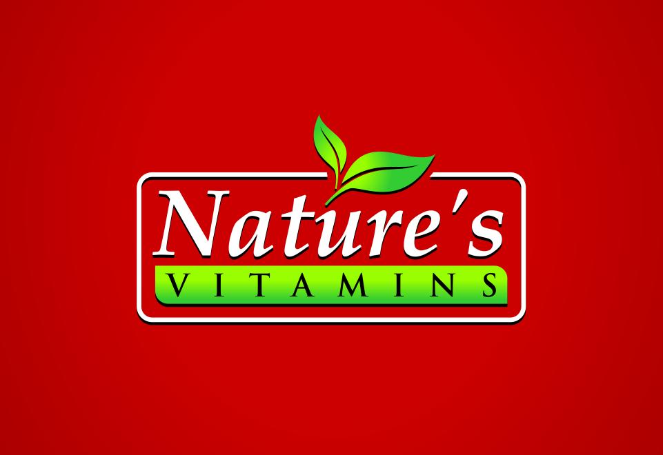 Nature's Vitamins - Needs a tasty gummy vitamin logo!