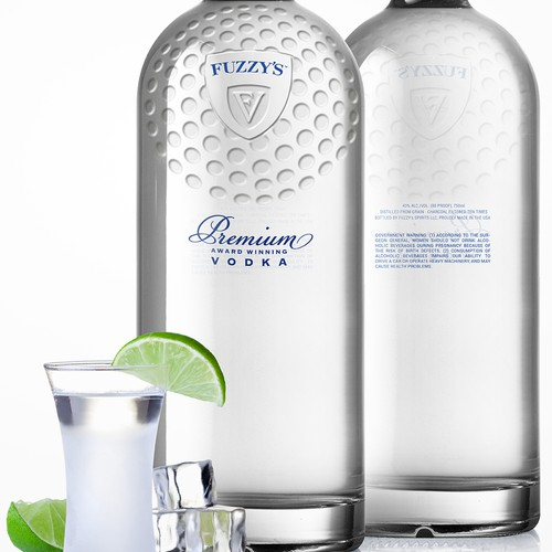 Next great vodka label and bottle
