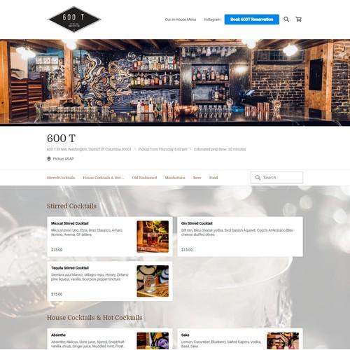 Square Online Website.