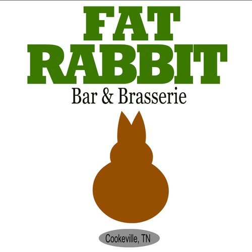 Fat Rabbit Logo Design
