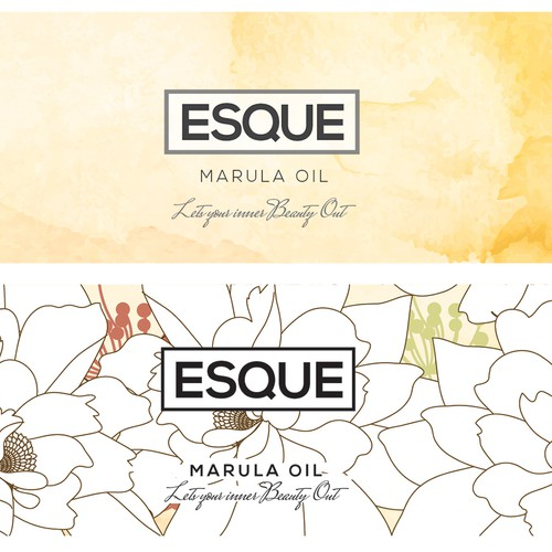Packaging for Marula Oil Cosmetics