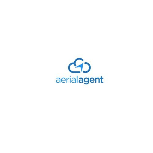 Aerial agent logo design