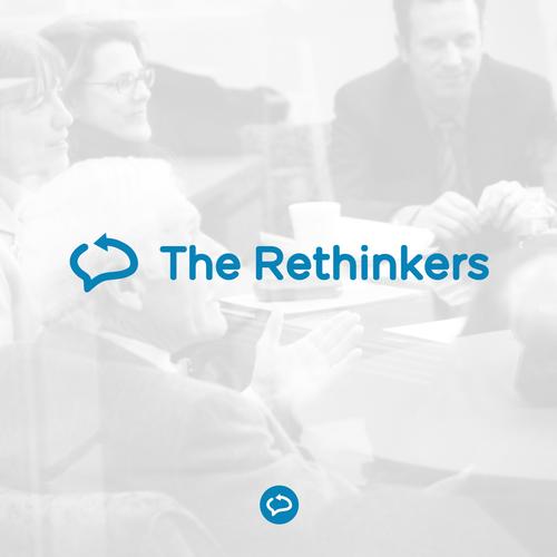 The rethinkers logo design
