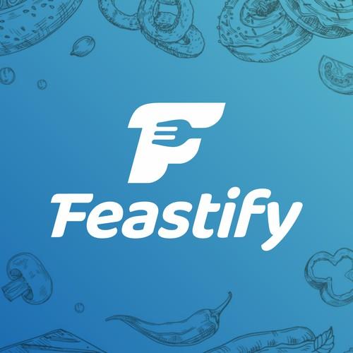 Feastify Logo Design
