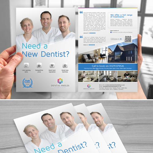 Dental Smiley flyer