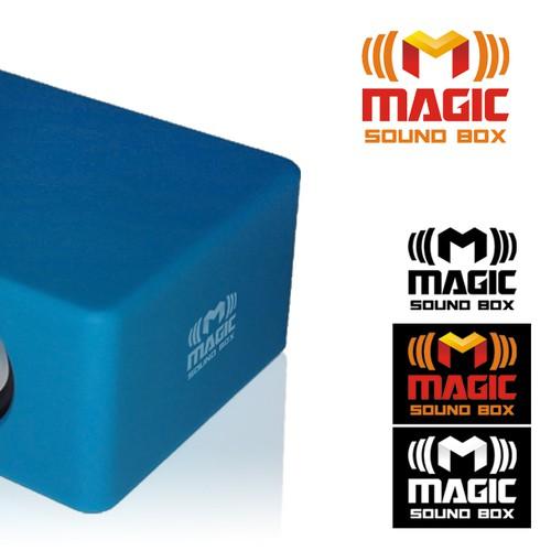 Create the next logo for Magic Sound Box