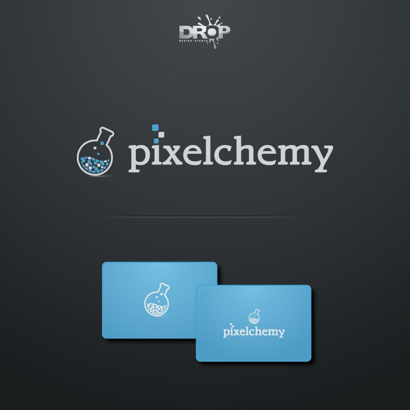 Juicy, iconic logo needed for mobile gaming - Pixelchemy -