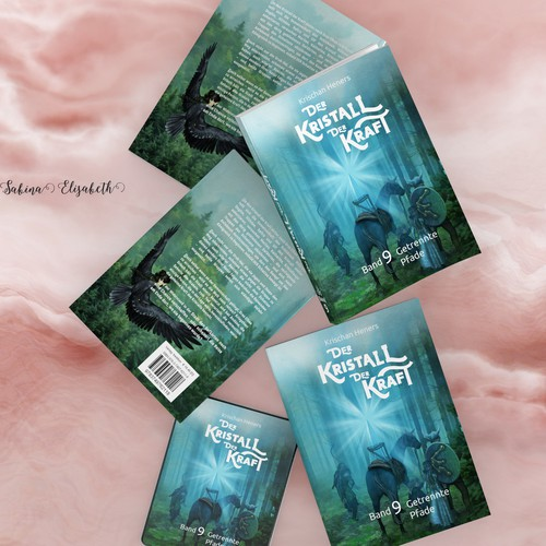 Bookcover - Band 9 - Kristal der Kraft
