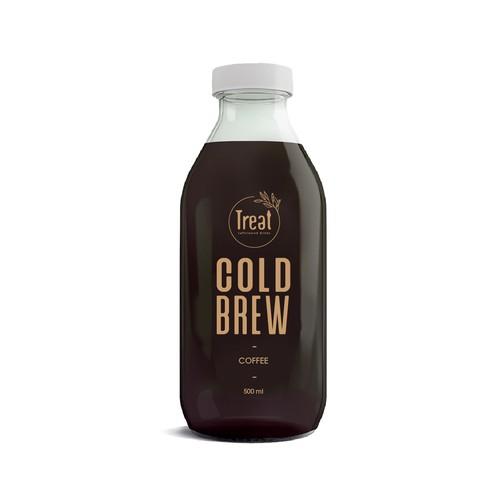brew label design