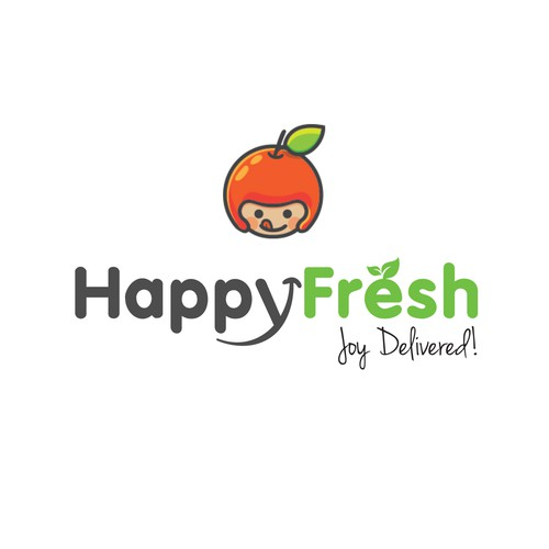 Happy Fresh | Logo design