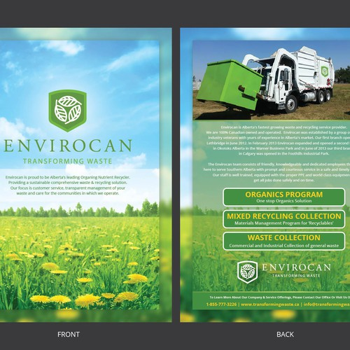 Flyer Design for Envirocan