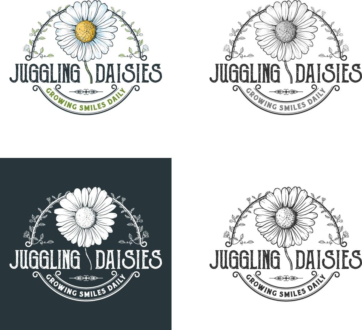 Juggling Daisies Logo Change