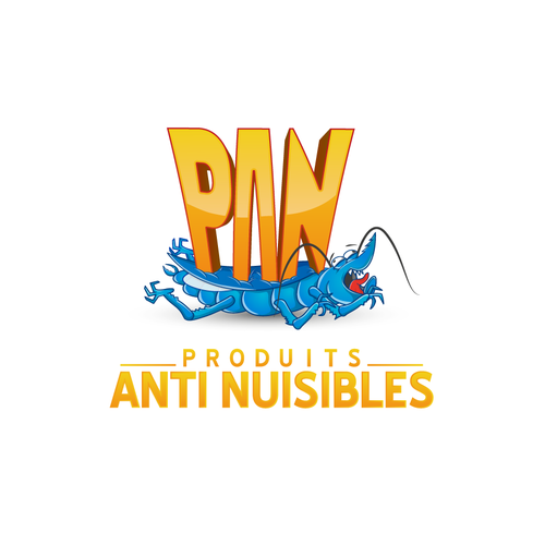 Create a logo for a pest control products startup in Morocco