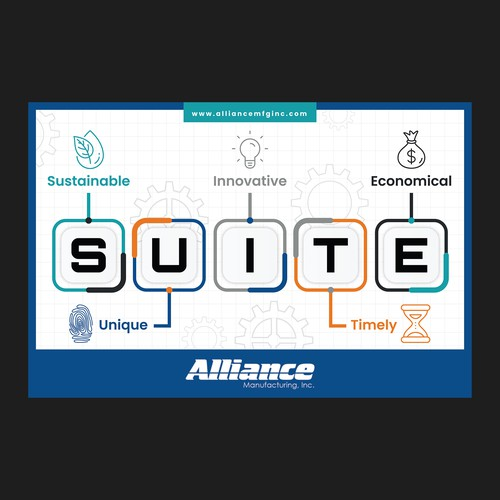 Workplace poster for Alliance Manufacturing, Inc.