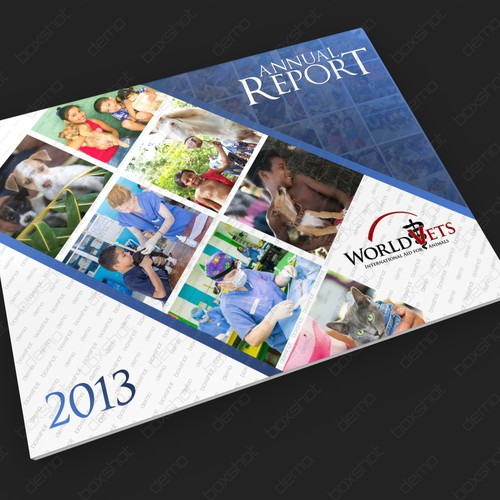Annual Report World Vets (cover)