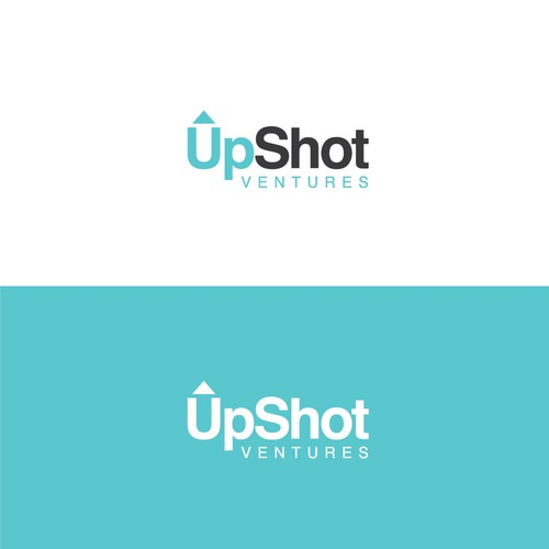 simple logo concept for upshot