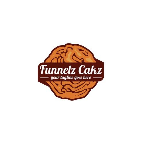 Funnelz Cakz Logo