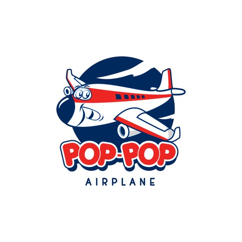 Pop-pop for book children logo