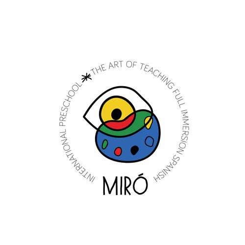 Dada logo for art preschool