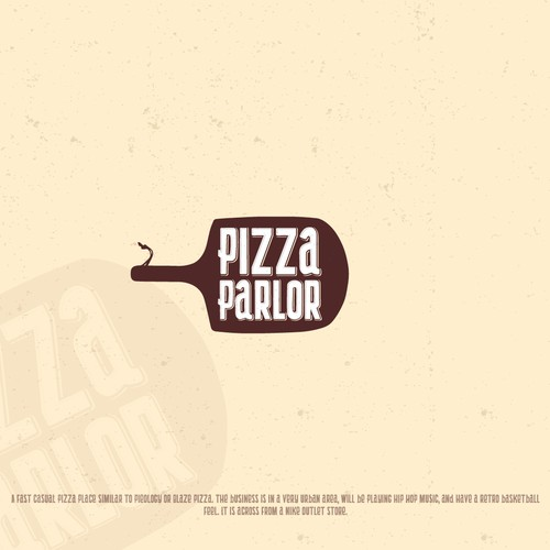 Logo for Pizza Parlor