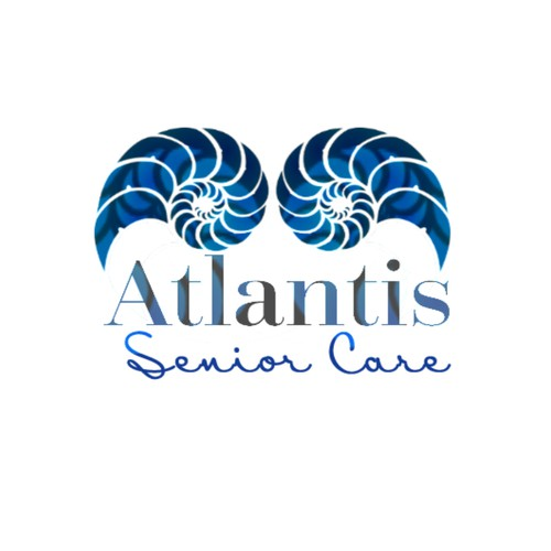 Ocean theme logo for Florida Senior Care Company