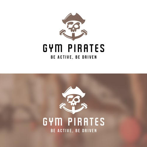 Logo concept for a gym