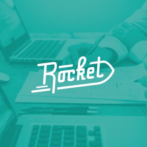Rocket custom typography