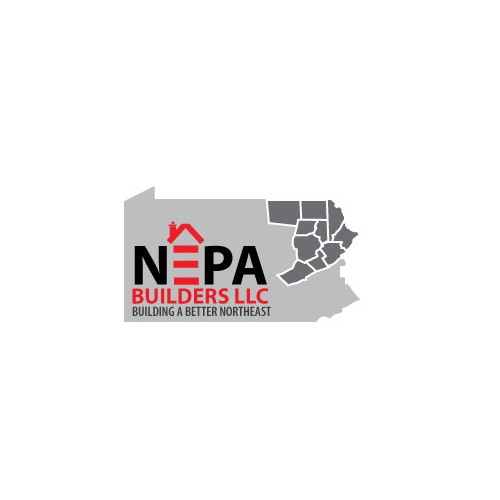 Design a dominant calling card for NEPA Builders LLC