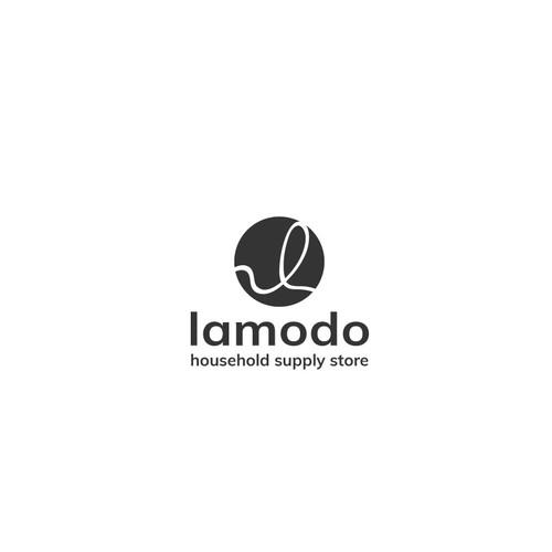 Cleanes, minimalistisches und modernes Design für Haushaltswaren-Logo