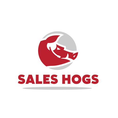 Bold logo for Sales Company