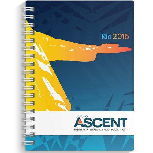 Capa caderno Rio 2016 para ASCENT