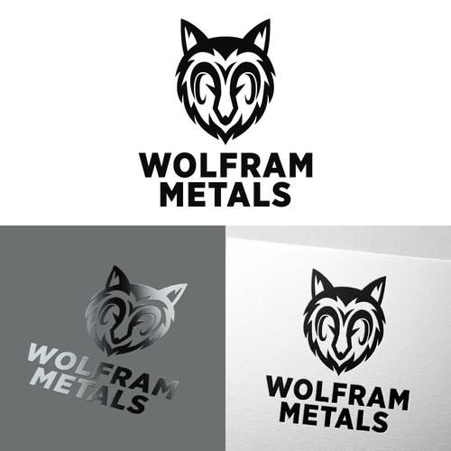 Logo symbol of wolfram logo