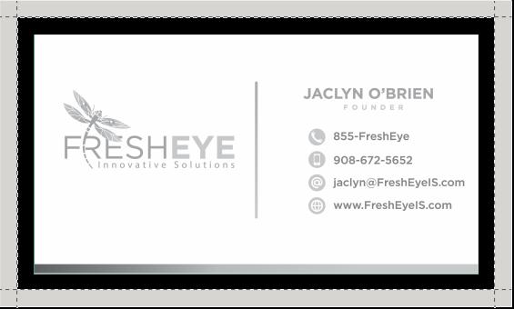 FreshEye business card